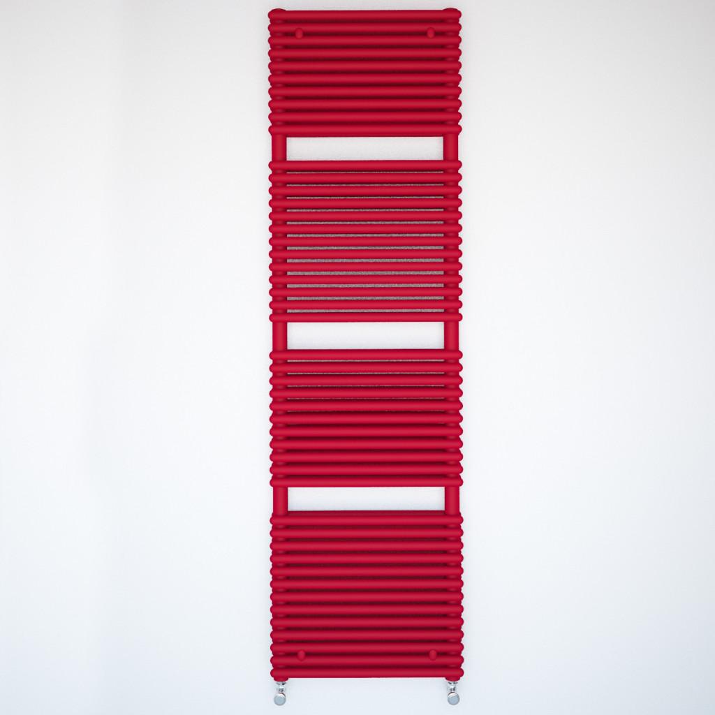 Caliente Rail - Red LR radiator