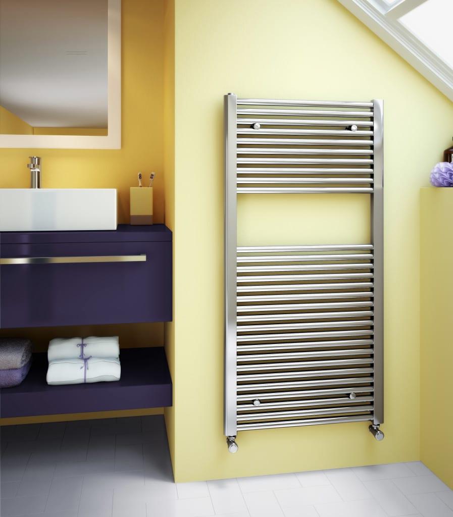 Classic Towel Rail radiator - Chrome