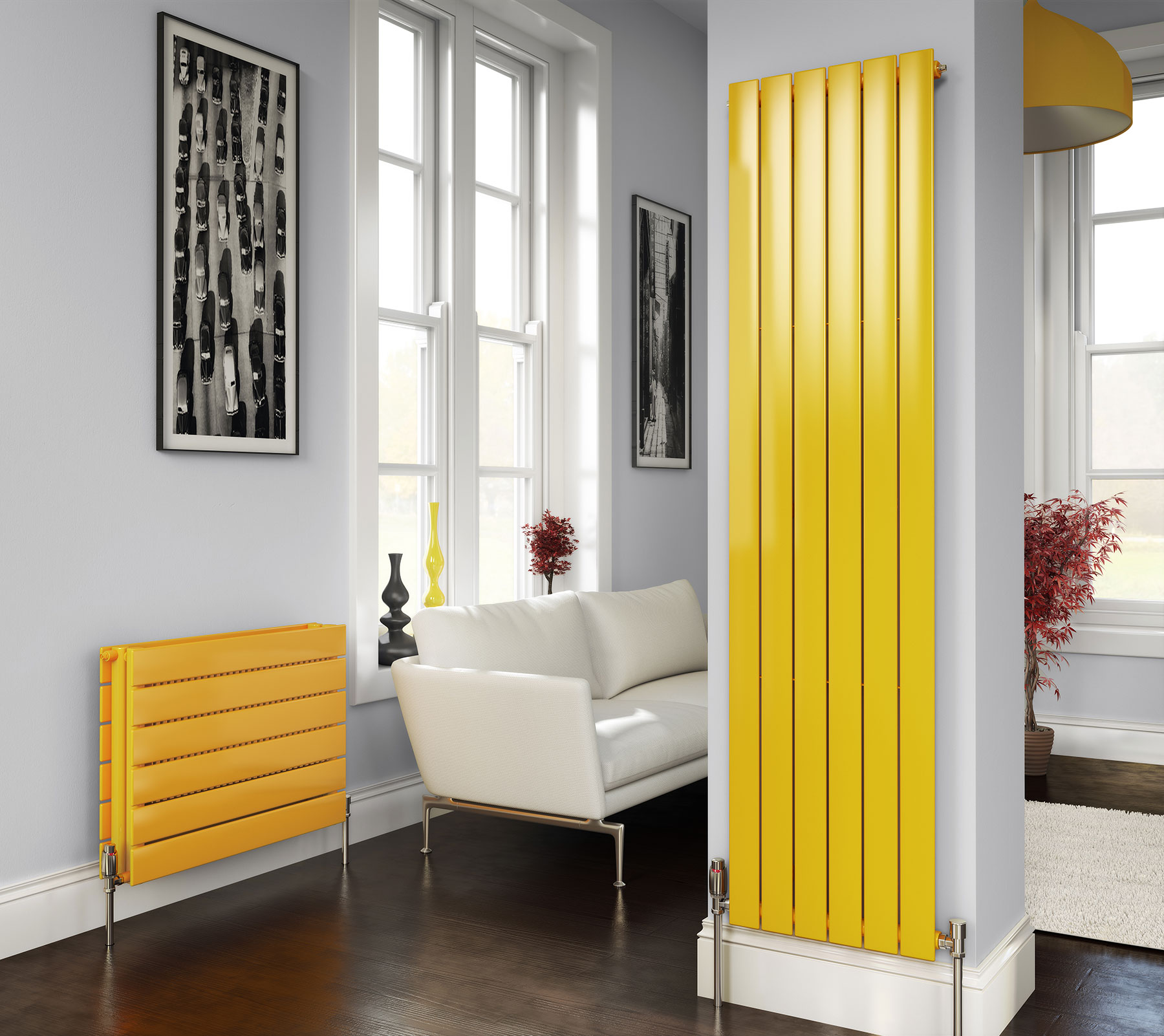 Concord Vertical Radiators From Stelrad