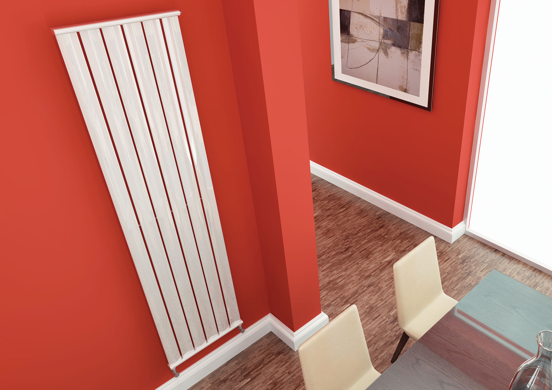 Aqua Ellipse Radiators