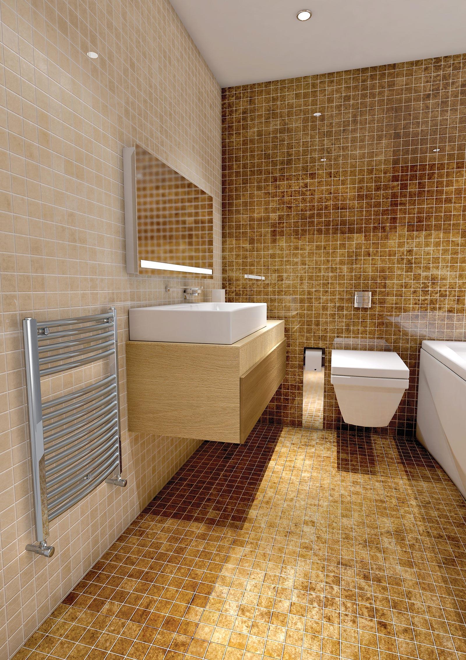 Towel rail heated towel rail stelrad - Heated towel racks for bathrooms ...