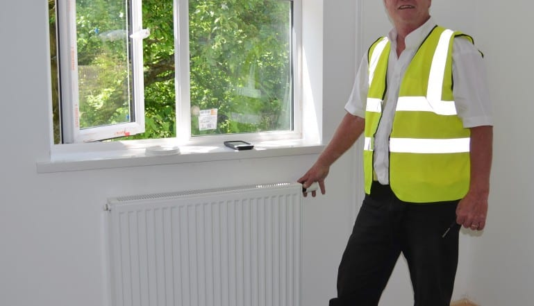 Adrian Simmonds, Heating Services Manager, Monmouthshire Housing Association
