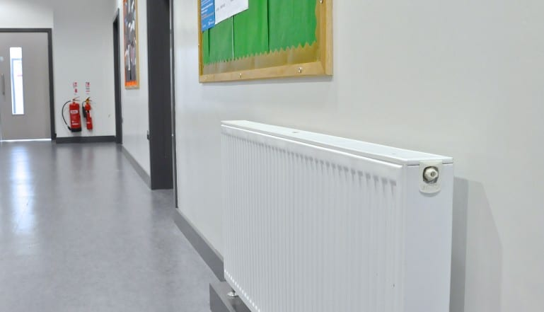 Stelrad Compacts at Lagan College