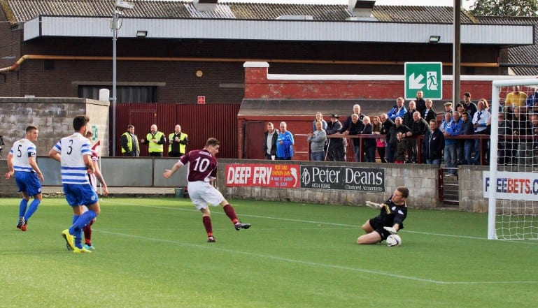 Stenhousemuir Football Club In Action