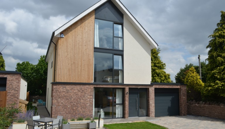 One of the new homes at Ross-on-Wye