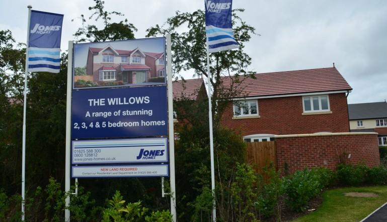 The development in Tilston
