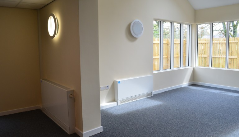 Part of the new community room at the centre.
