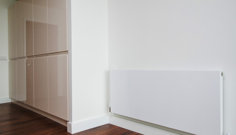 Stelrad Planar radiators add that extra style to the apartments in this excellent development.