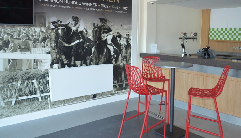 And a Planar in one of the new bars at the racecourse