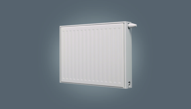 One of our energy saving radiators