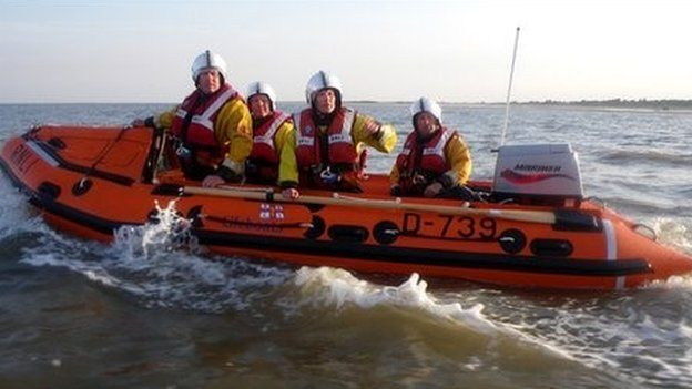The Skegness Inshore lifeboat that needs replacing