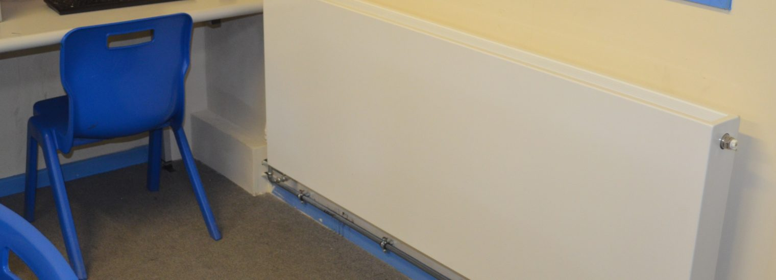 New heavy duty Planar radiators selected for Midlands school heating upgrade