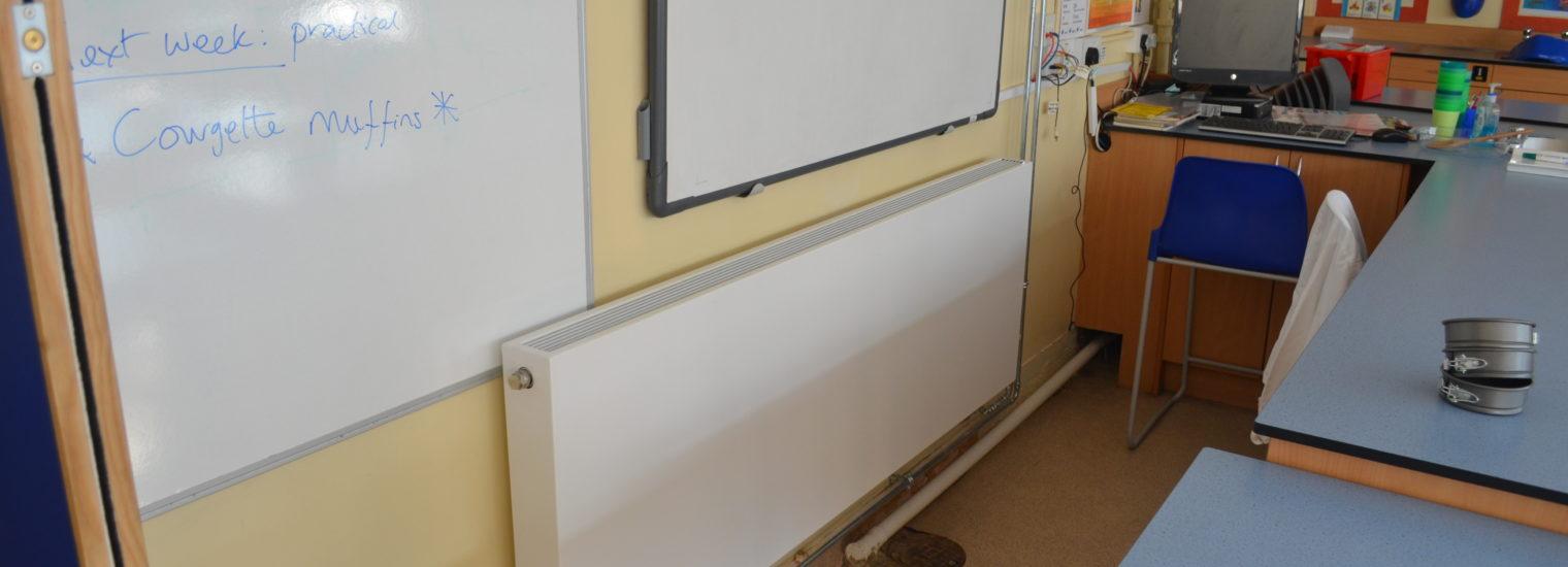 Nower Hill School benefits from Stelrad Planars