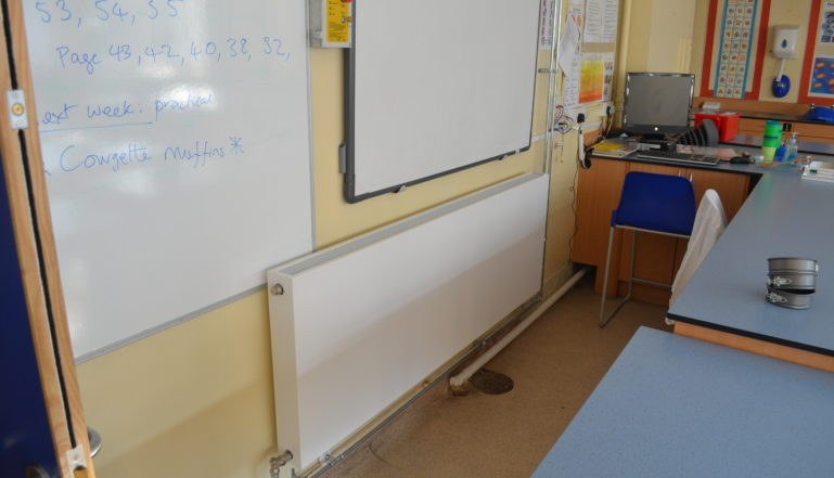 And another in one of the classrooms