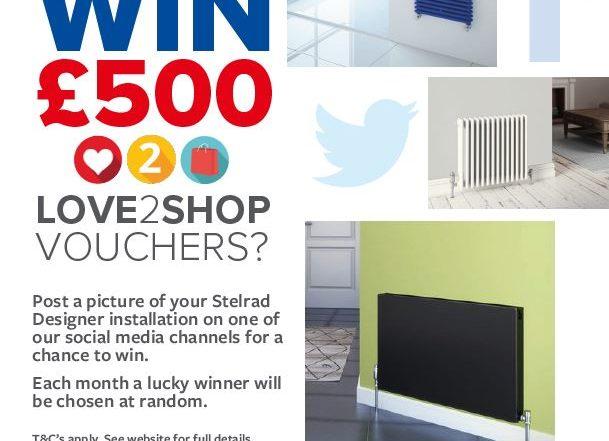 Social Media Competition WIN £500 Love2Shop Vouchers