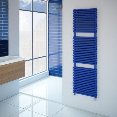 Caliente Rail blue radiator