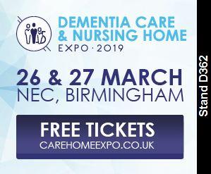 Dementia, Care & Nursing Home Expo 2019