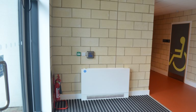 And another Stelrad LST as you enter the building.