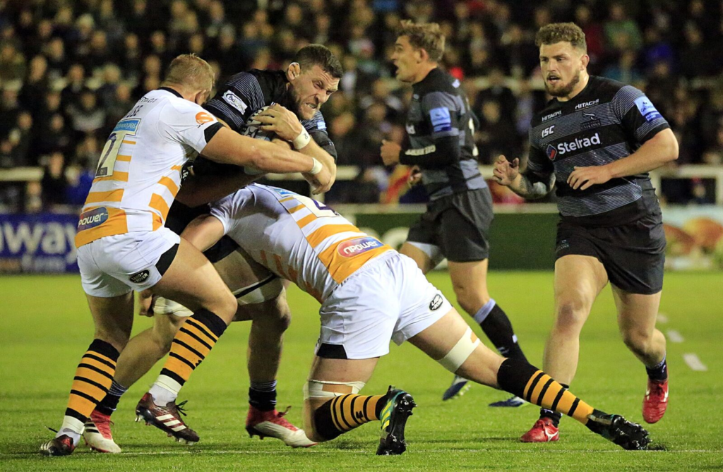 Stelrad and Newcastle Falcons
