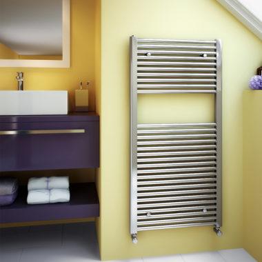 Classic Towel Rail Chrome Bathroom - LR