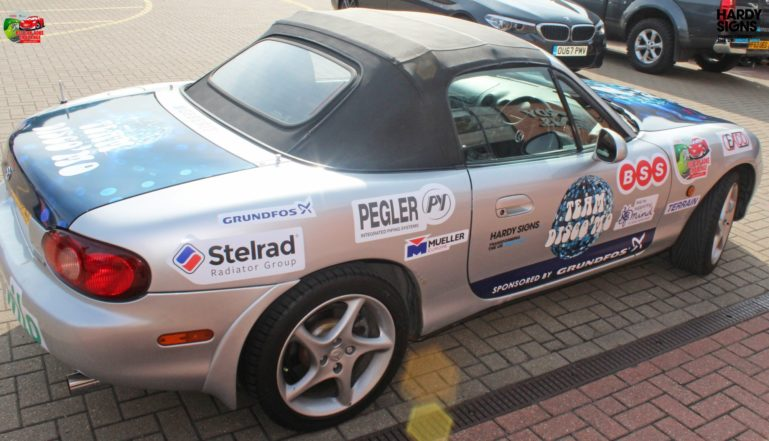 One of the participants in last year's BSS Challenge with Stelrad decals