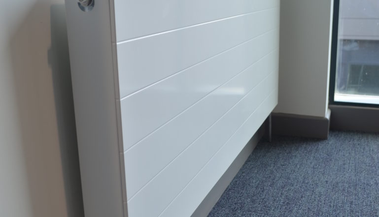 A Compact with Style radiator that graces each floor's public areas.