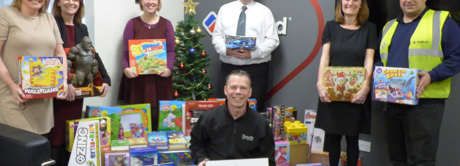 Stelrad Employees Support Trax Fm Christmas Toy Appeal