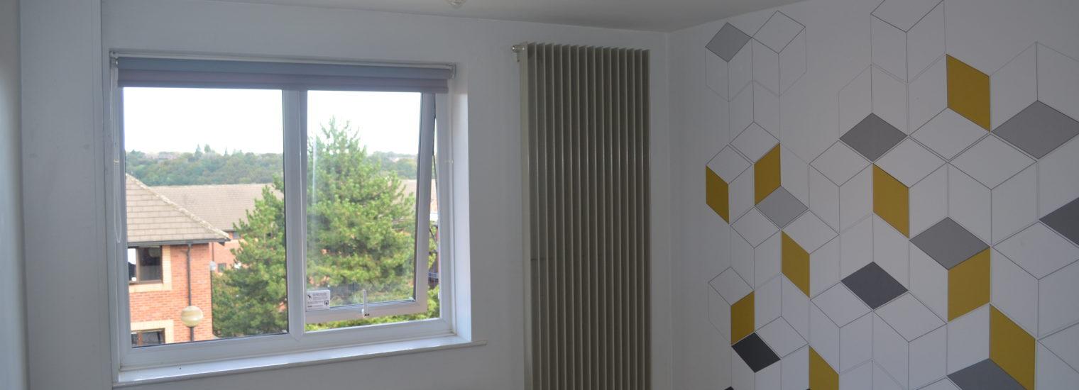 Stelrad Vertical Radiator In Leeds University