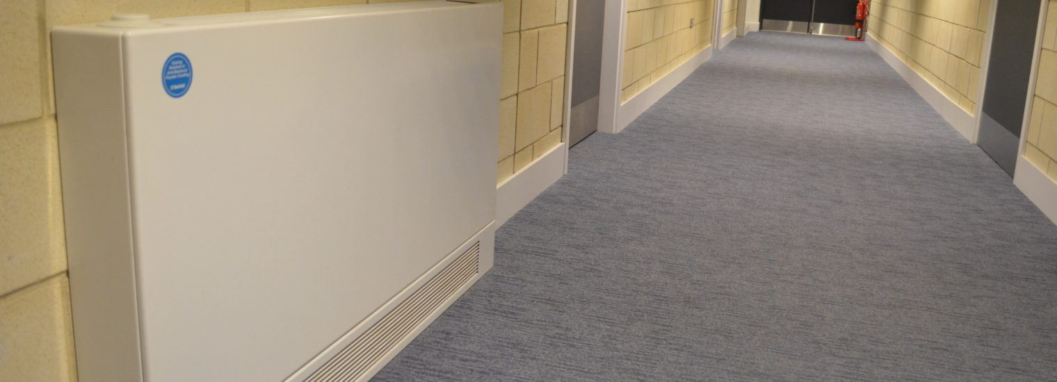 Stelrad Low Surface Temperature radiators benefit from RADECOL