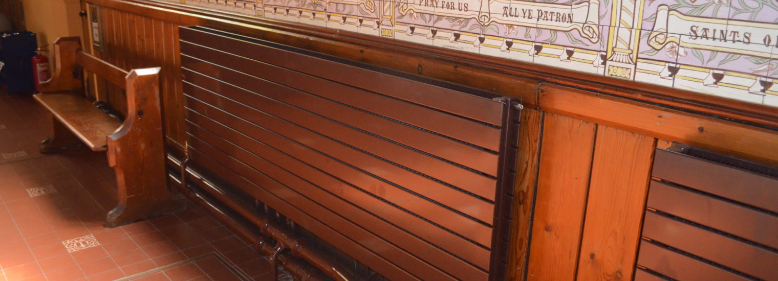 Stelrad Radiator in Catholic Cathedral in Newcastle