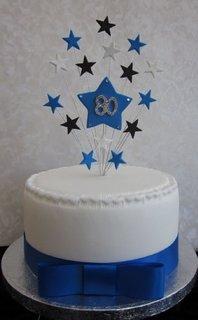 Stelrad 80th birthday cake
