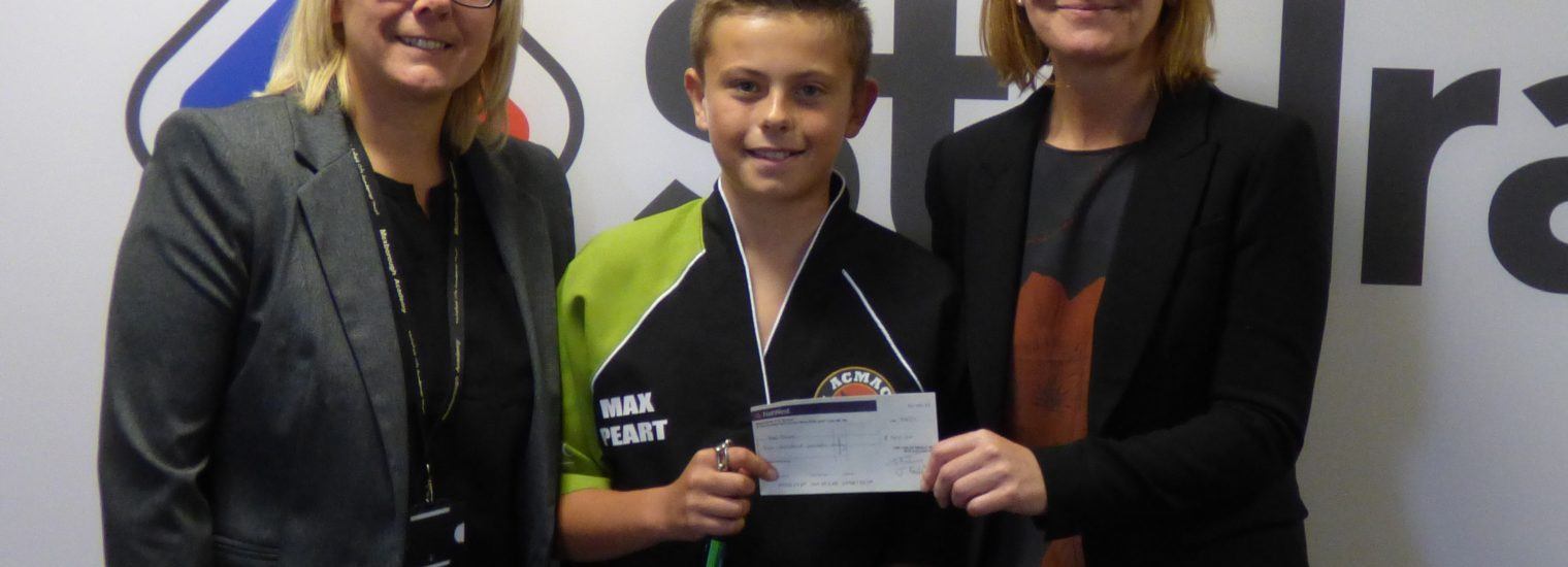 Stelrad supports local 12 year old MMA fighter