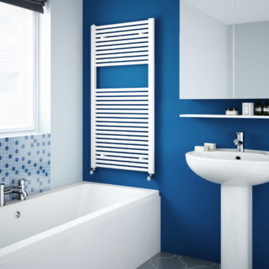 Classic Towel Rail White Bathroom LR