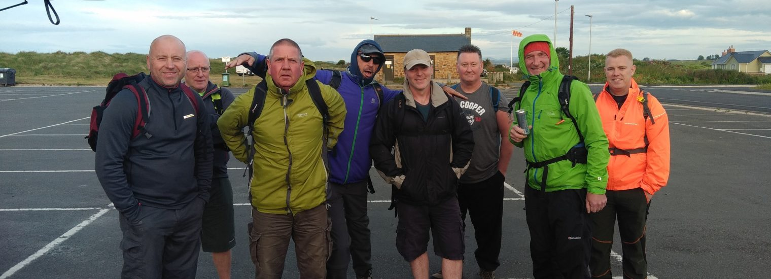 Charity Walkers Raise Funds For Bluebell Wood Hospice And Cancer Research Uk, Teens And Kids!