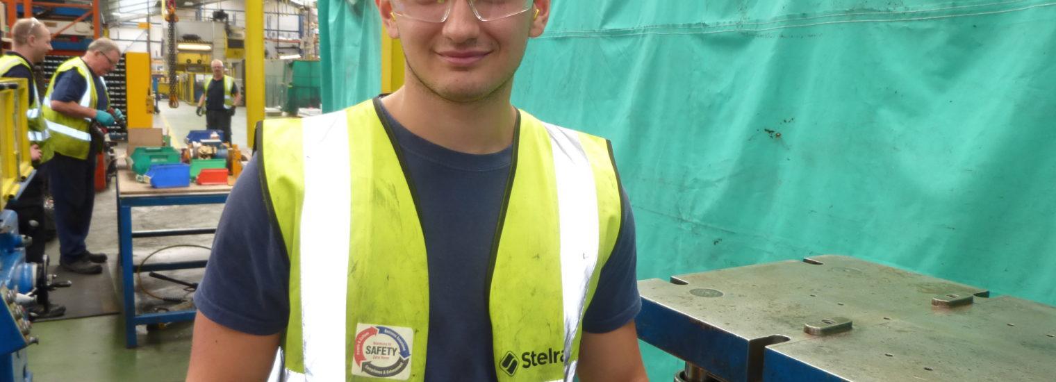 Joel McCabe Apprentice, Stelrad