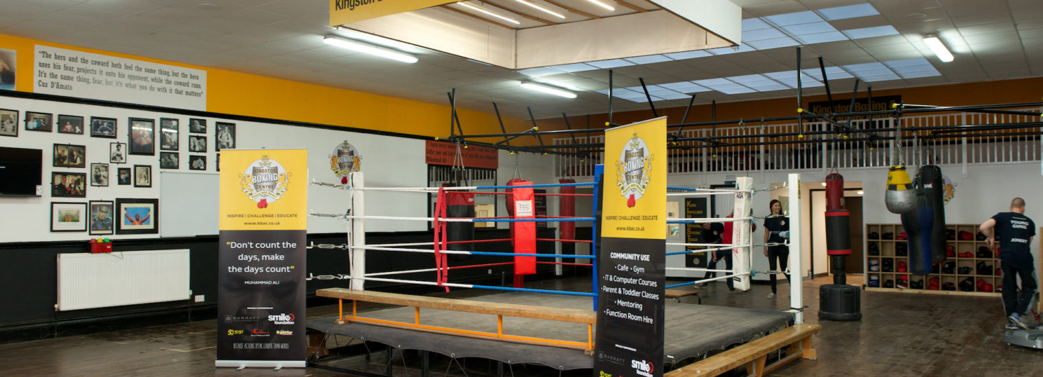Stelrad radiator in Kingston Boxing and community centre