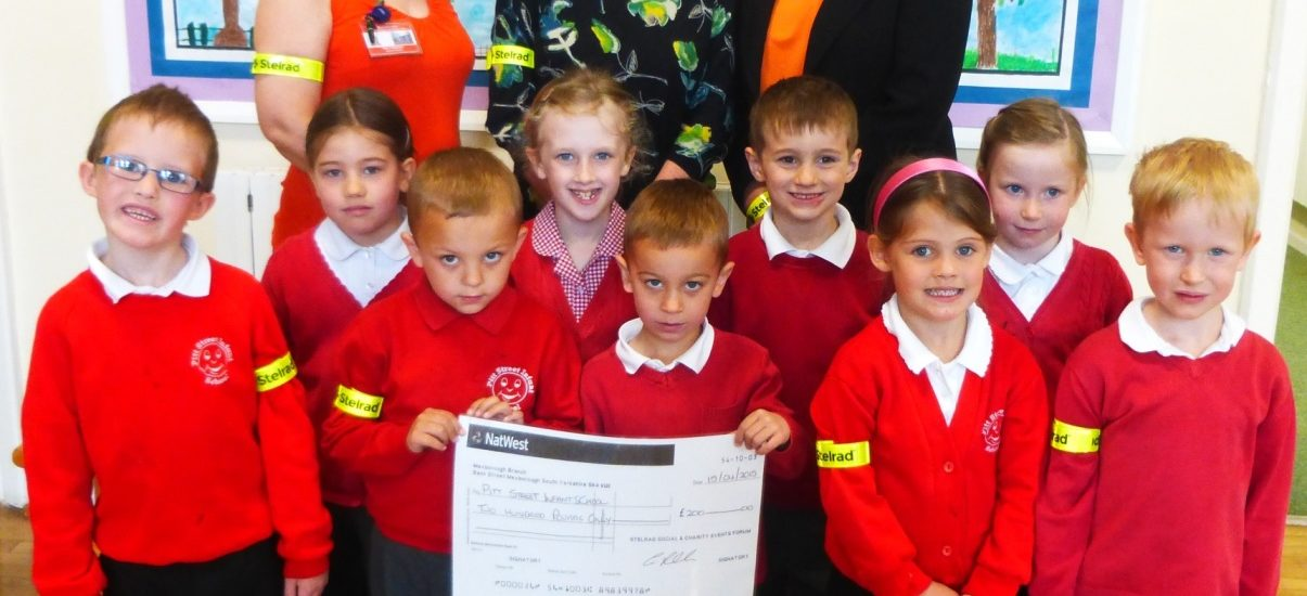 Stelrad partners with local school for health and safety