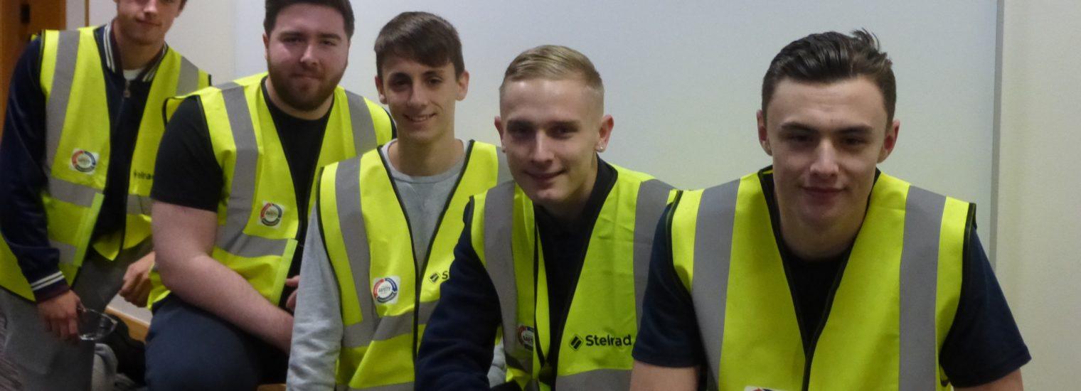 Stelrad's new apprentices