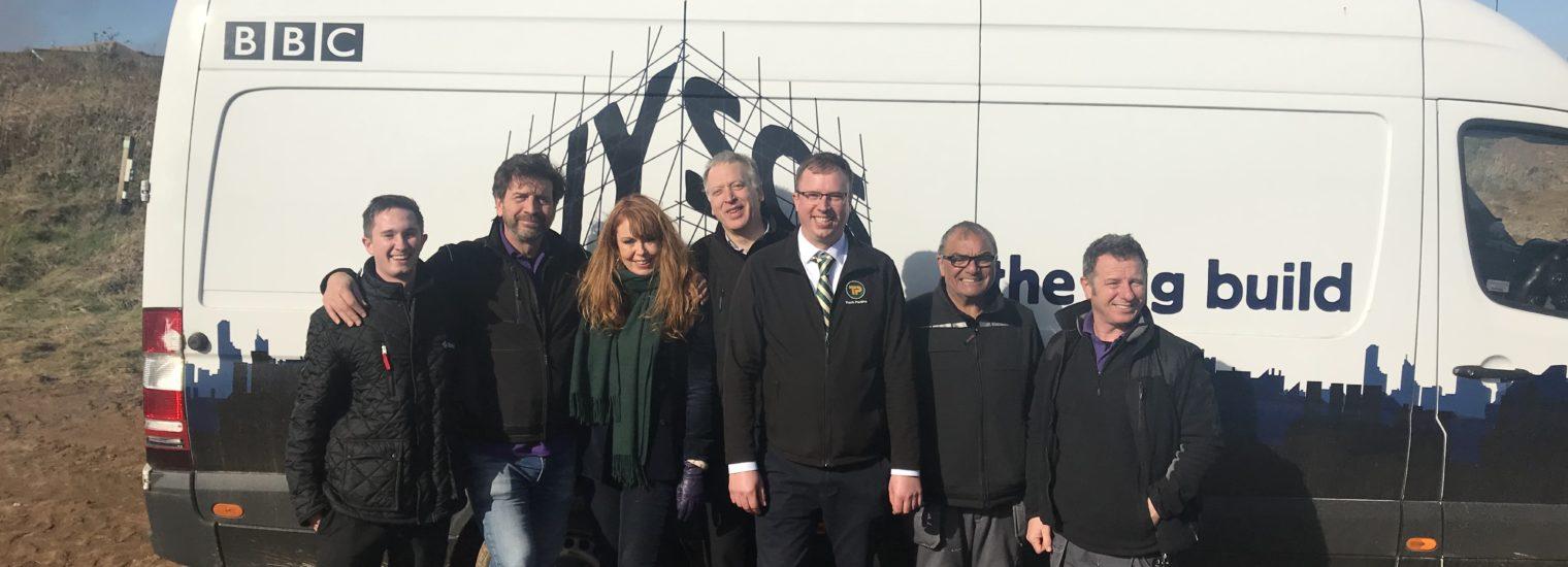 Steven Preston and the DIY SOS team
