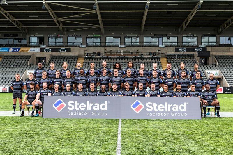 Stelrad principal partner with Newcastle Falcons