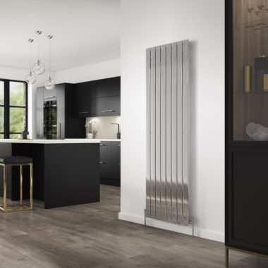 concord chrome kitchen radiator