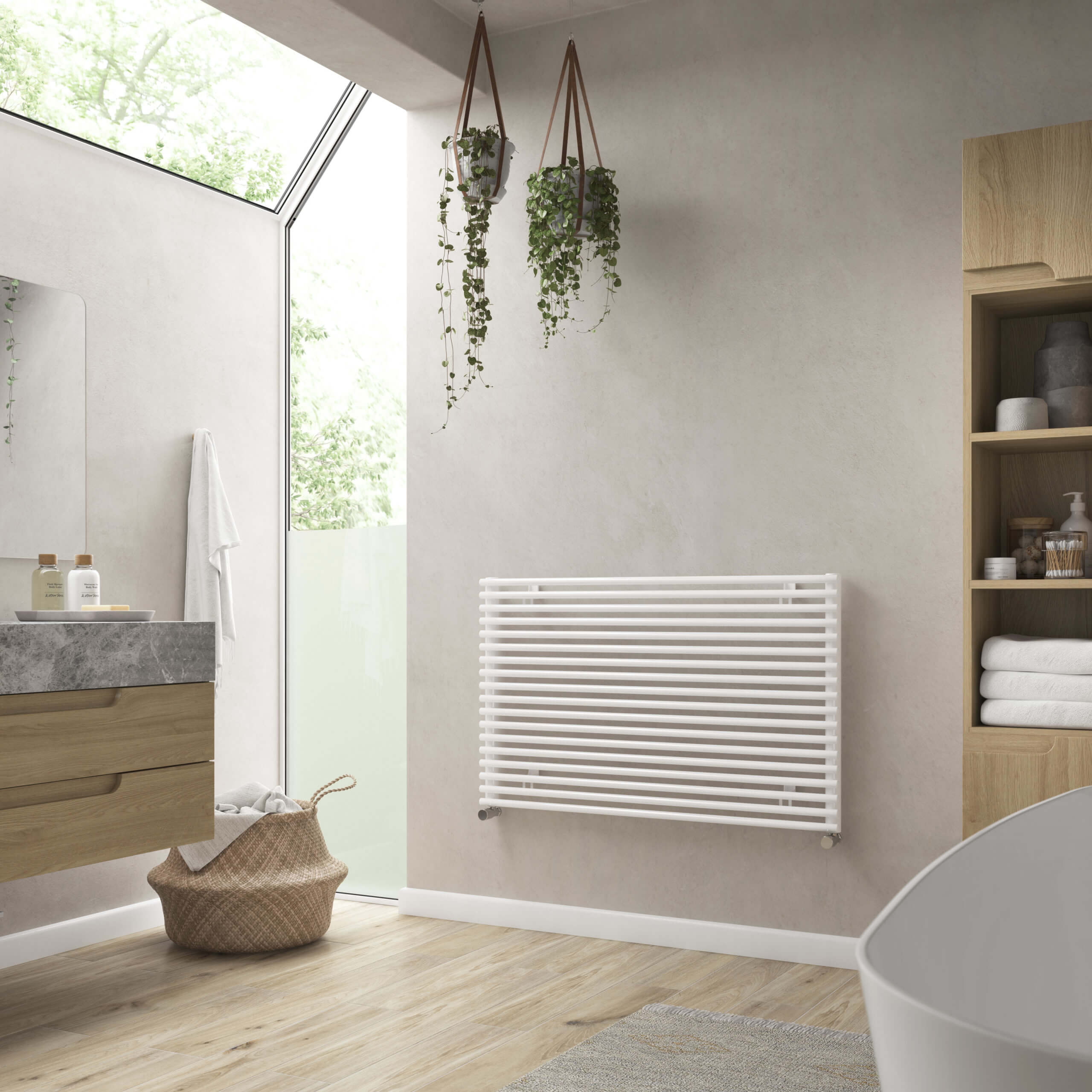 Caliente Horizontal Radiators