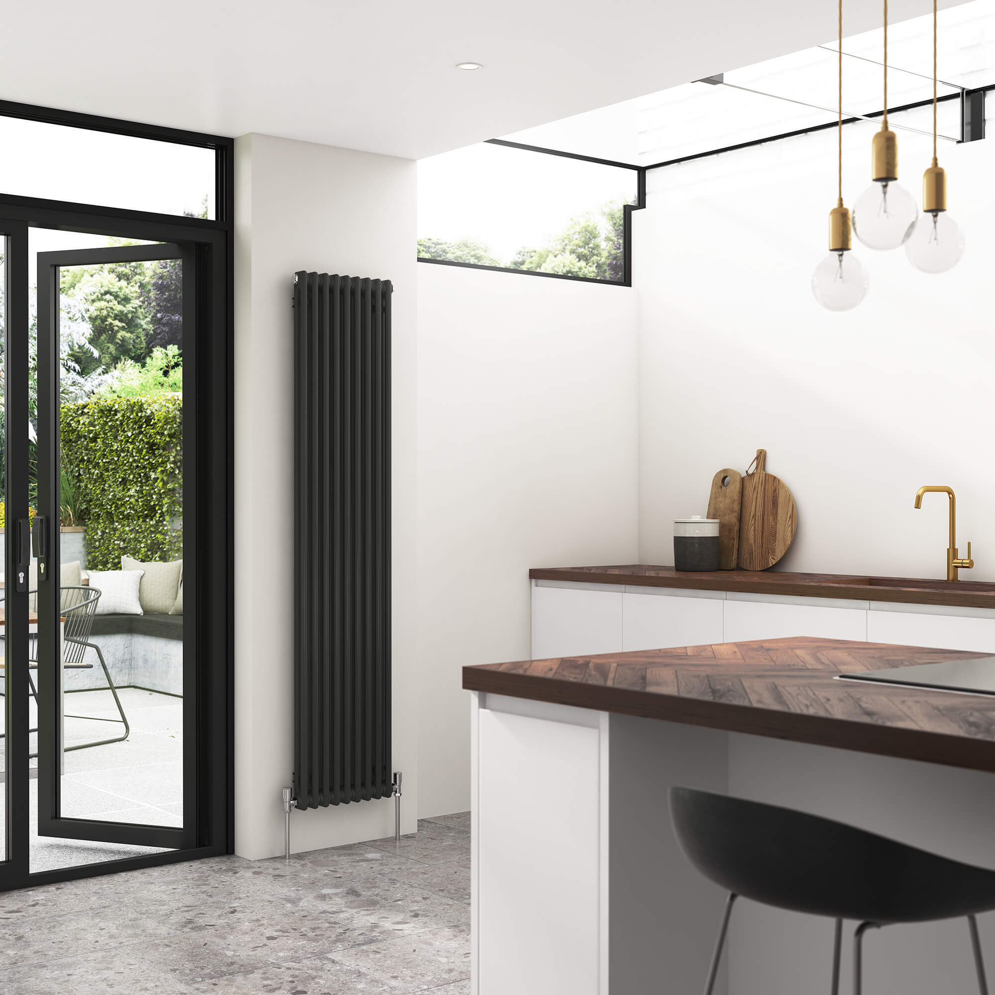 Vita Column Vertical Concept Radiators