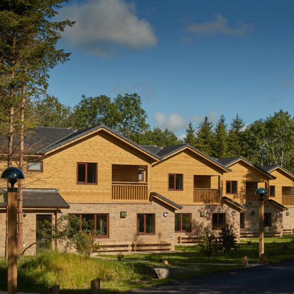 Center Parcs Longford Forest Accomodation bedroom executive lodges