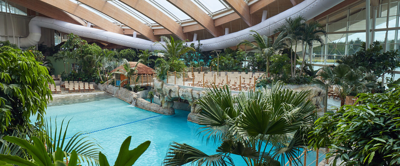 Center Parcs Longford Forest - tropical swimming paradise