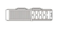 K2 top line drawing