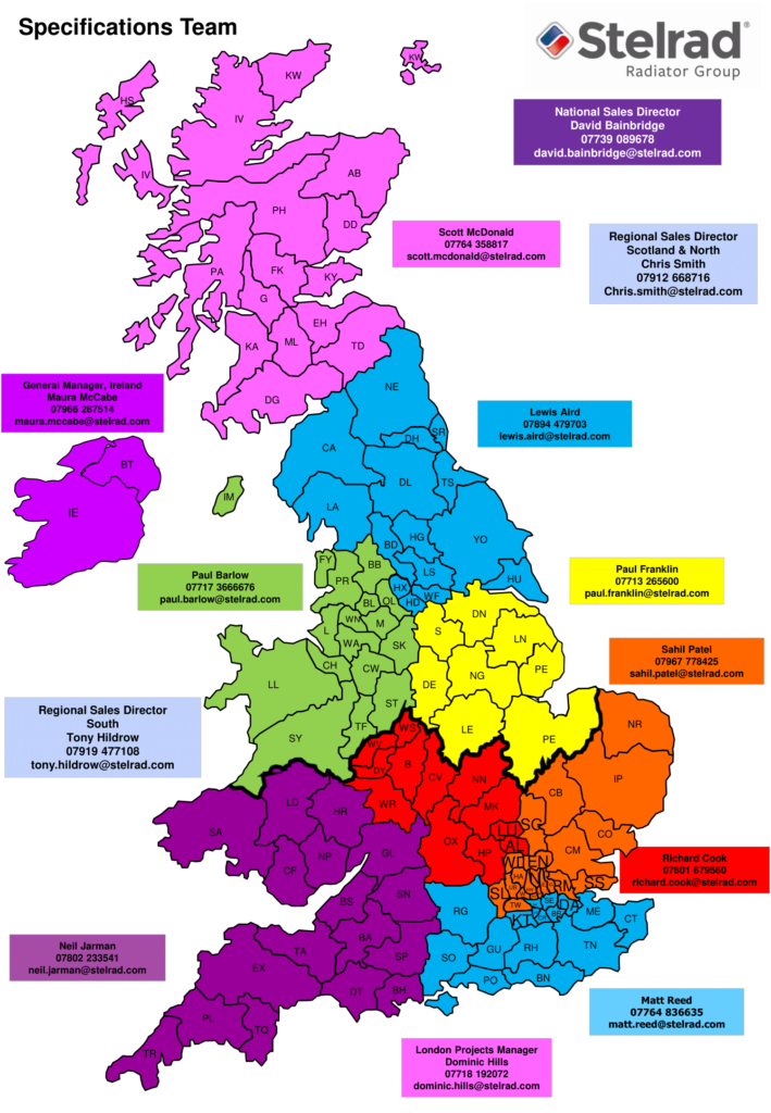 Specification Team Map