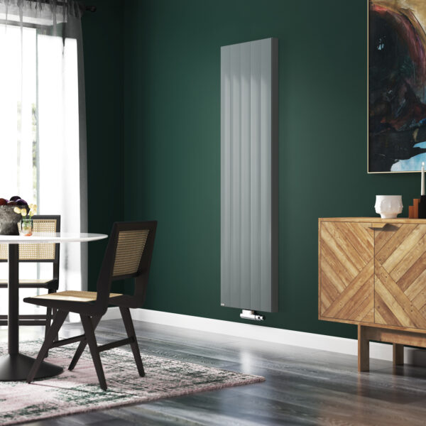 Stelrad Compact With Style Vertical radiator - Dove grey