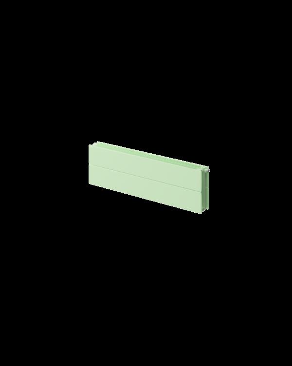 Stelrad Concord Lo Line radiator - Pastel green