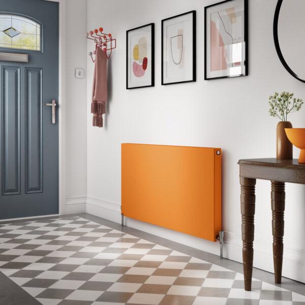 Stelrad Planar radiator - Pastel orange